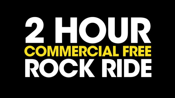 Two Hour Commercial Free Rock Ride