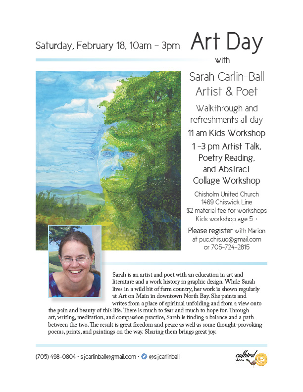 Art Day With Sarah Poster