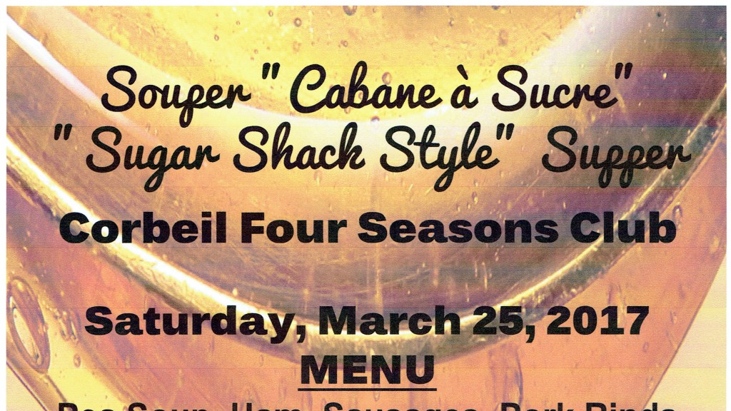 Sugar Shack Party poster