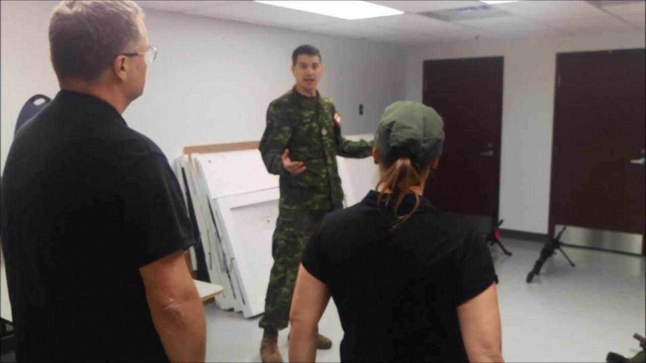 Test military canada fitness